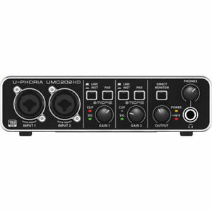 Like-N-E-W-Behringer-U-Phoria-UMC202HD-Audio-Interface