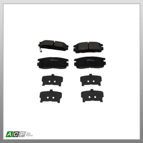 Fits Chevrolet Captiva C100 C140 2.0 D 4WD EuroBrake Rear Disc Brake Pads