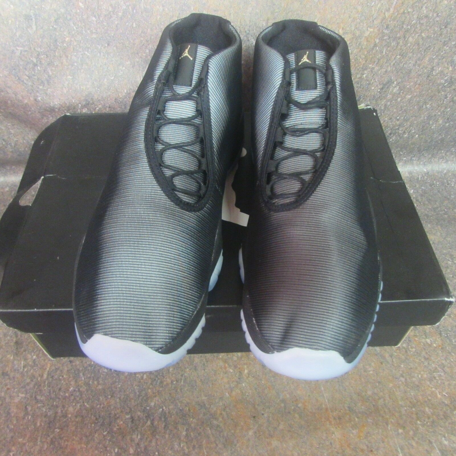 Nike Air Jordan Future Black Clear 3M Reflective Glow Size 12 (6C)