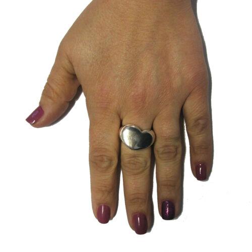 Stilvoll sterling silber ring solide 925 Herz R000142 EMPRESS