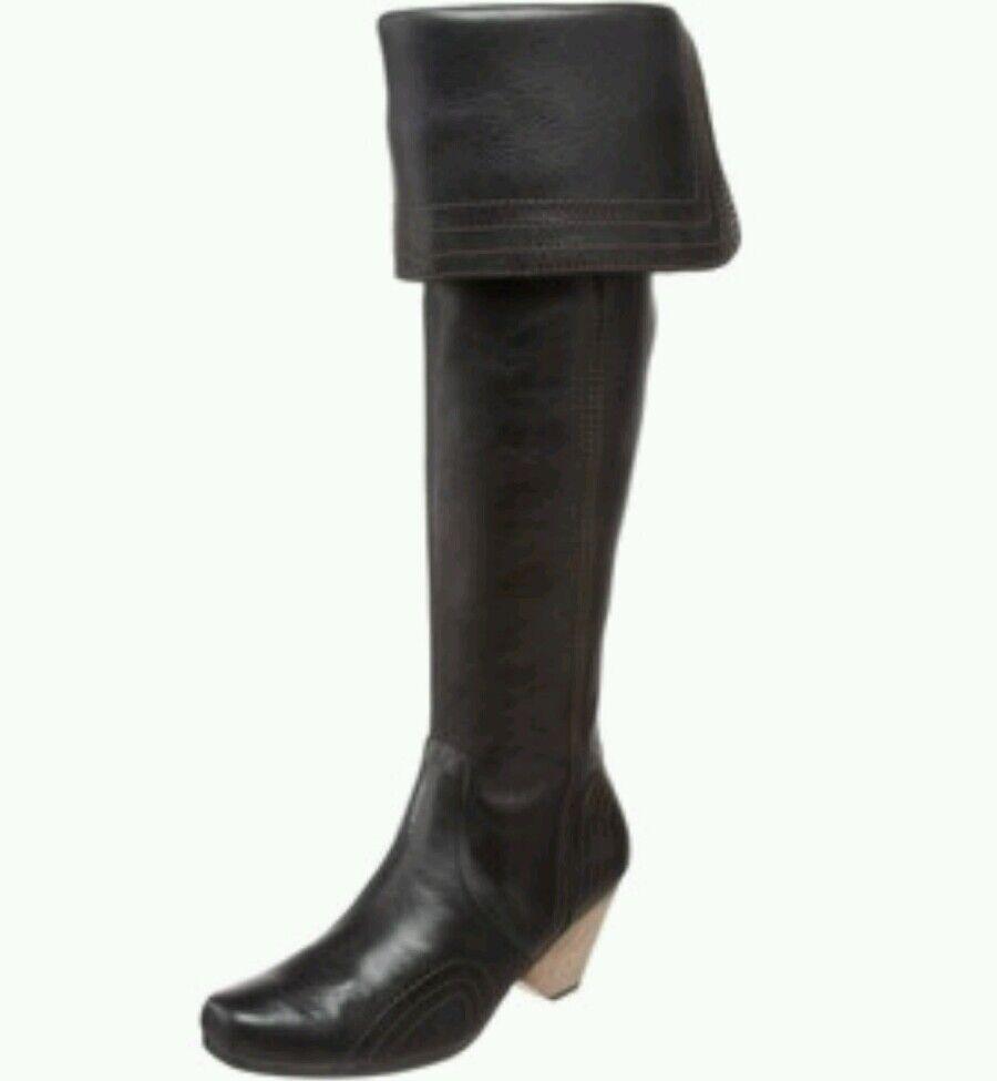 miglior servizio  377 JOHN FLUEVOG RUBY CREEK CUFF CUFF CUFF stivali 8.5 in nero LEATHER  presa di marca
