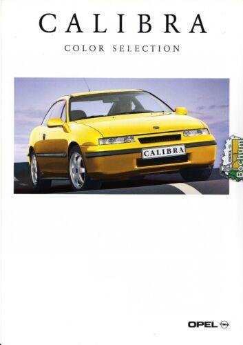 Opel Calibra   Prospekt  Brochure  09-1993 6 Seiten