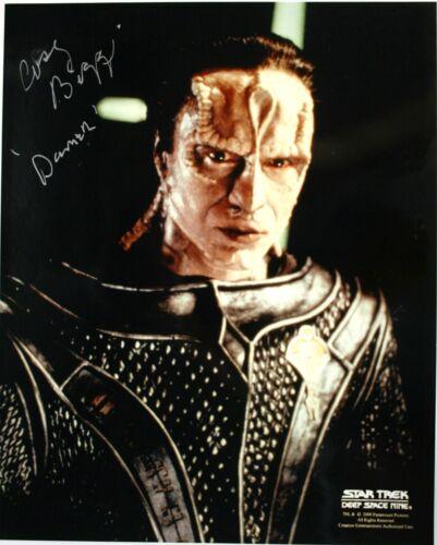 "Casey Biggs as Dumar 8/""X10/"" Autographed Photo STAR TREK Deep Space Nine"