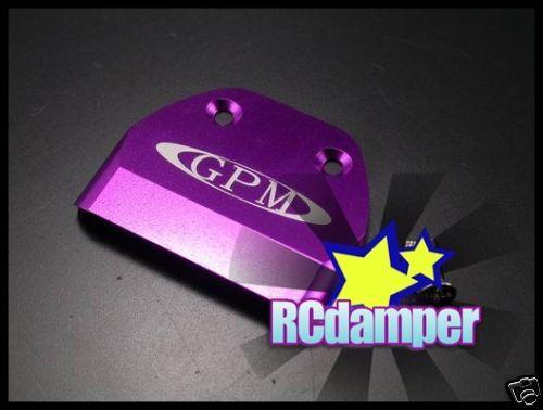 ALUMINUM CHASSIS PROTECTOR BRACE HPI NITRO MT2 /& G3.0