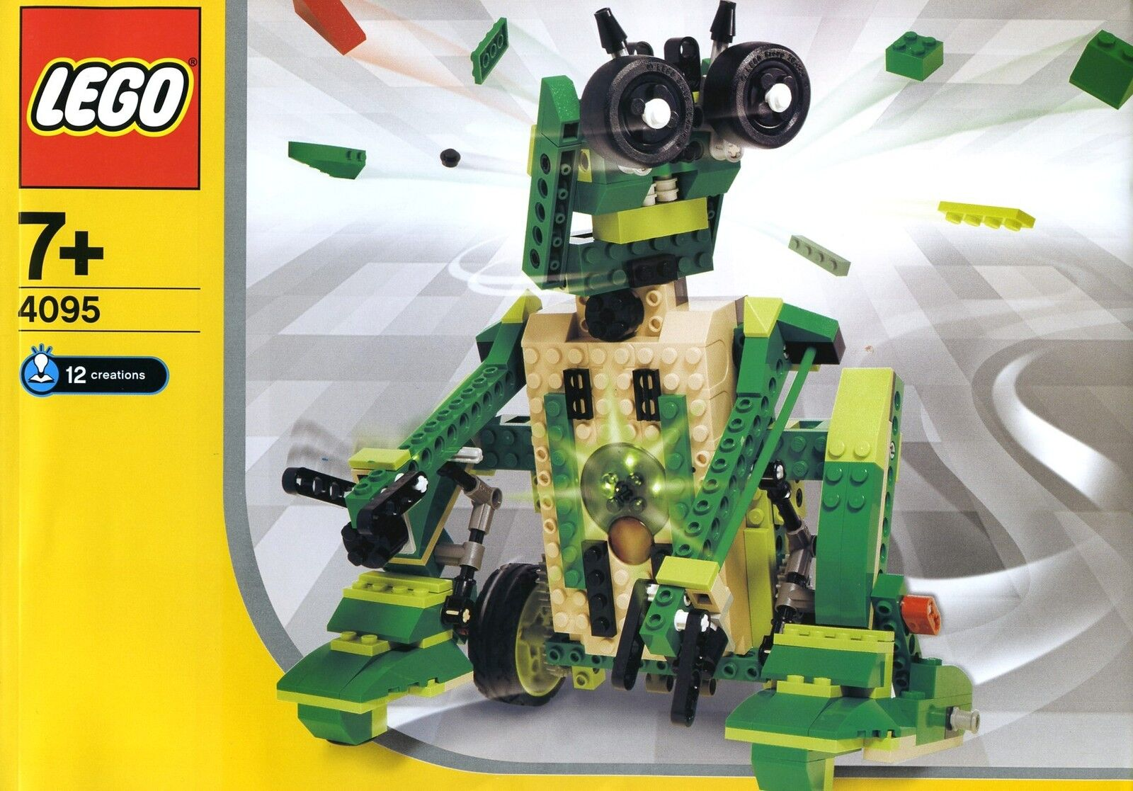 LEGO Inventer 4095 Record and Play NEW Sealed Set