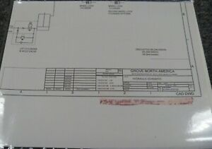 Grove SM3160E Aerial Scissor Lift Hydraulic Schematic Electrical Wiring  Diagram | eBay | Hydraulic Lift Wiring Diagram |  | eBay