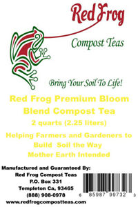 4lb BLOOM BLEND Red Frog Compost Tea Fertilizer;Feed & Grow Your Buds & Blooms