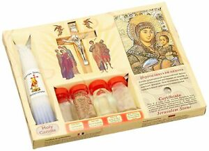 7-in-1-Holy-Land-Mega-Set-Holy-Water-Soil-Oil-Incense-Crucifix-Cross-Candles