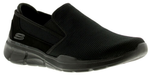 Skechers ecualizador 3.0 sumnin Para Hombre Zapatillas Negro