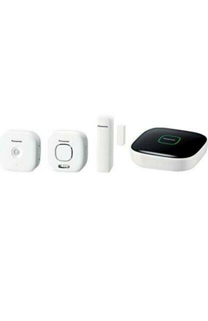 Kit básico de seguridad para el hogar Panasonic