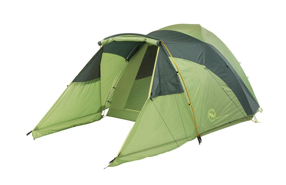 Big Agnes Tensleep Station 4 Car Base Camping Tent Family Tent 2 Doors 2Vestibul