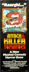 ATTACK-OF-THE-KILLER-TOMATOES-1979-ORIG-14X36-MOVIE-POSTER-DAVID-MILLER