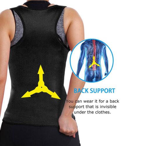 Women Neoprene Push Up Vest Sweat Waist Trainer Hot Body Shaper Cincher Corset g