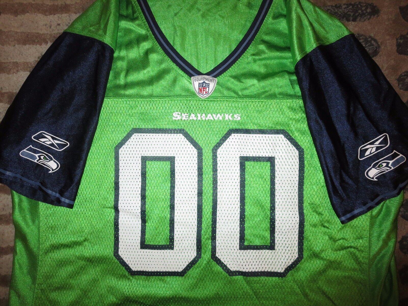 Seattle Seahawks Seahawks Seahawks Fußball Reebok NFL Trikot Damen 97eee4