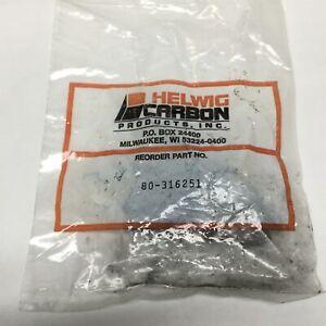 Lot-of-4-Helwig-Carbon-80-316251-Baldor-Motor-Brushes-312-034-x-625-034-x-1-25-034