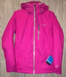 COLUMBIA Nordic Point II Interchange Omni Heat Pink Hooded ...
