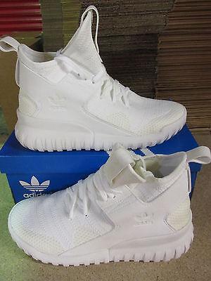 Adidas Originals Tubular X PK J S76039 Junior Hi Top Trainers Sneakers Shoes