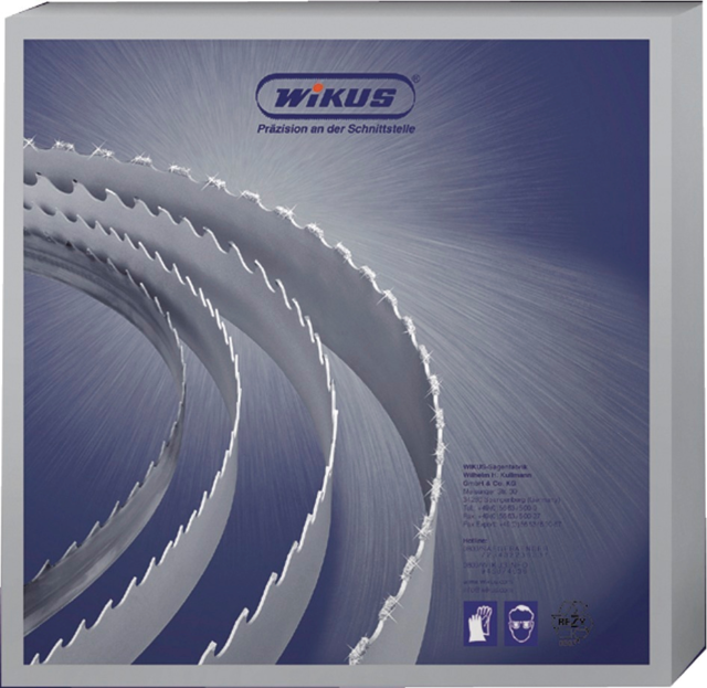 Sägebänder WIKUS Ecoflex M42 3660x27x0,9mm Bandsägeblatt Bimetall Bandsägeband