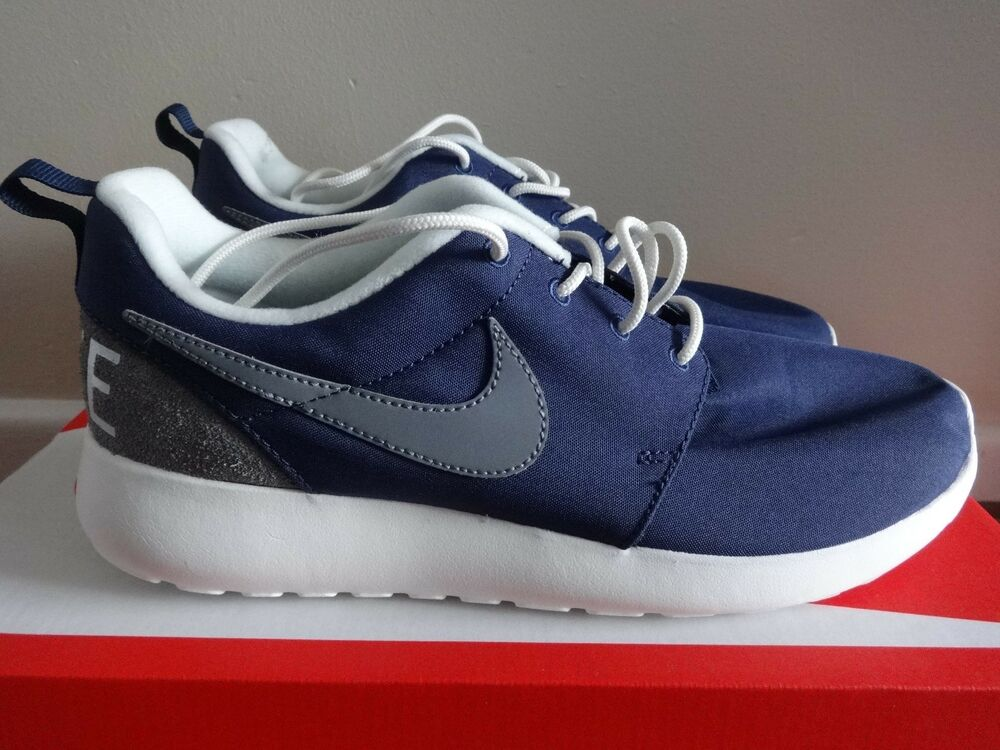 Nike Roshe One baskets rétro baskets 819881 401 uk 6 eu 40 us 7 new in box-