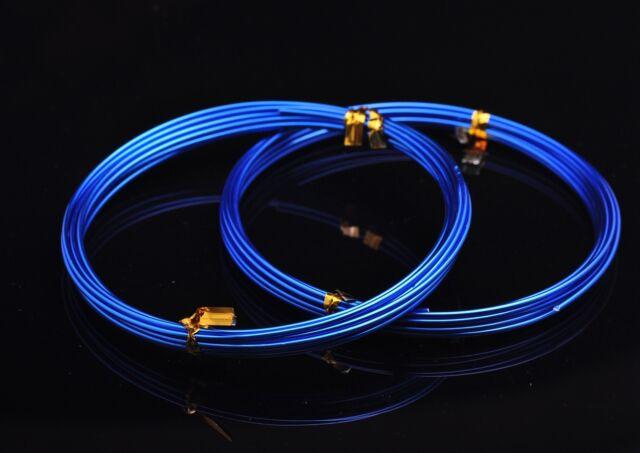 1Roll(5meters) 18Gauge 1.0mm Aluminum Wrap Craft Wire Jewelry Making Deep Blue