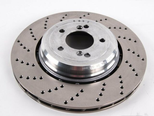 For BMW Genuine Disc Brake Rotor Rear Right 34212282808