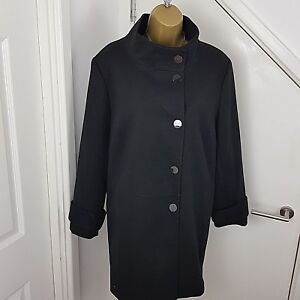 to buy huge selection of cozy fresh Details about The Collection Debenhams Coat Jacket Petite Black Size UK 16  P /EU 44