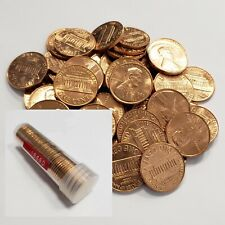 1969 D BU ROLL LINCOLN MEMORIAL CENTS