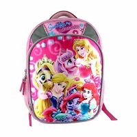 Girl's Disney Princess And Palace Pets Sweet & Adorable Pink School Backpack