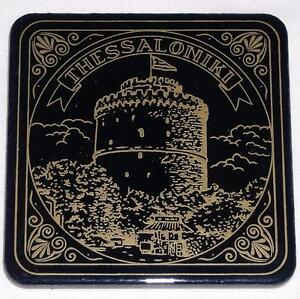 SET-OF-6-CERAMIC-COASTERS-DEPICTING-THE-WHITE-TOWER-OF-THESSALONIKI-SALONICA