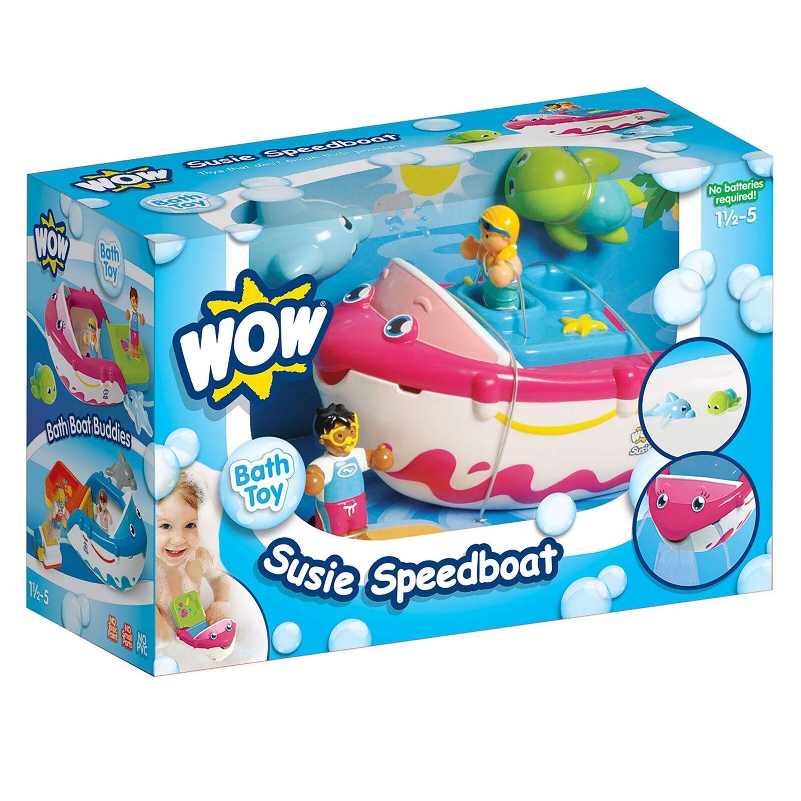Susie Speedboat 106901 5033491106901 by WOW Toys | eBay