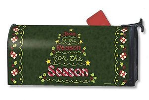 JESUS-is-the-REASON-FOR-THE-SEASON-Christmas-Magnetic-Mailbox-Cover-Made-in-USA