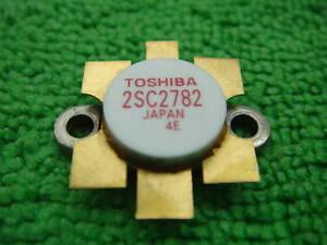 1PCS  RF//VHF//UHF Transistor TOSHIBA 2-13C1A 2SC2782A C2782A Red Dot