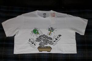 29698d7b Uniqlo Omiyage Akatsuka Limited Edition Men's Japan Bonsai Graphic T ...