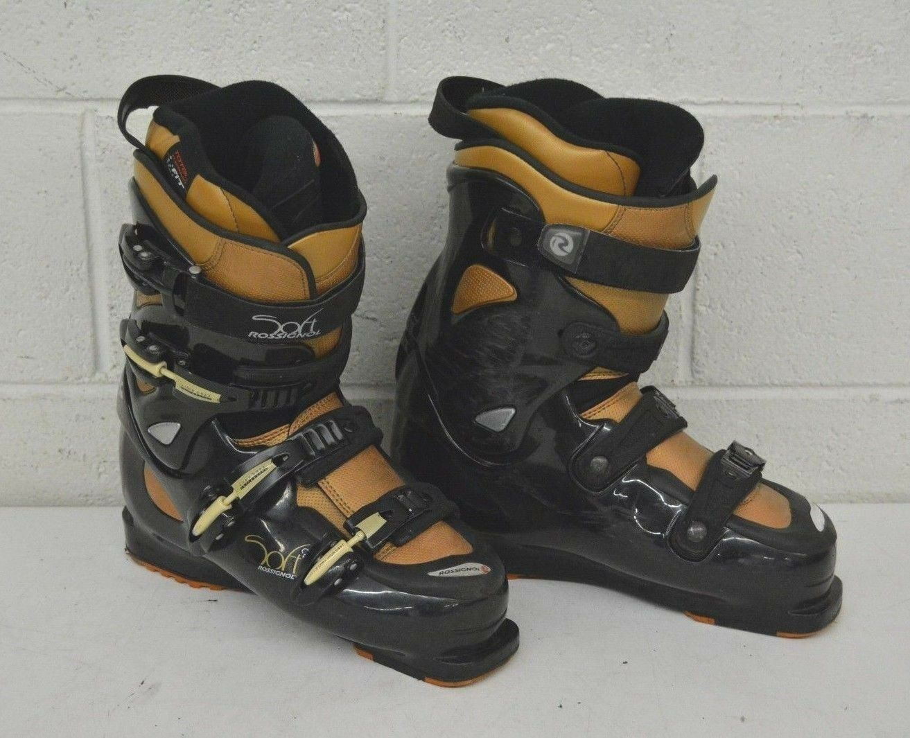 Rossignol Soft Hybrid Downhill Ski Boots US Women's 9.5 MDP 26.5 Fast Shipping