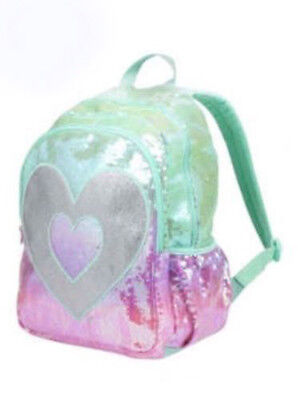 JUSTICE GIRLS BACKPACK SEQUIN OMBRE  NWT
