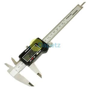Ecran-LCD-Metal-Electronique-Numerique-Vernier-Etrier-Micrometre-Jauge-avec-Etui