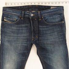 Mens Diesel SAFADO OR4SB Straight Slim Fit Blue Jeans W33 L32