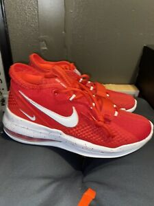 Cuidar En consecuencia oportunidad  Nike Air Force Max Low TB Pro Red/White Basketball Men's Size 9.5 New | eBay