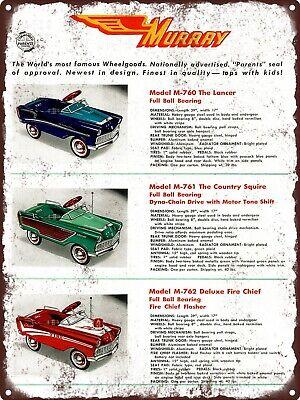 "1956 Jo Han Jo-Han Model Kits Olds Oldsmobile Toy Car Metal Sign 9x12/"" A022"