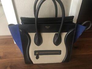 Main A Luggage Genuine Celine Tote Sac 4qUwXwp7