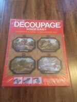 Decoupage Made Easy Currier & Ives 4 Seasons Kit,