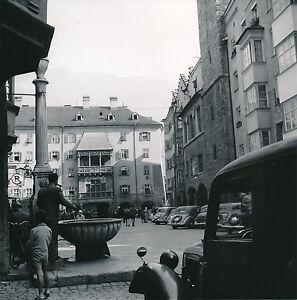 Autriche C. 1953 - Autos Place Friedrich Str Goldenes Dachl Innsbruck Div 11344 Vdn6u8ou-08002245-608489519