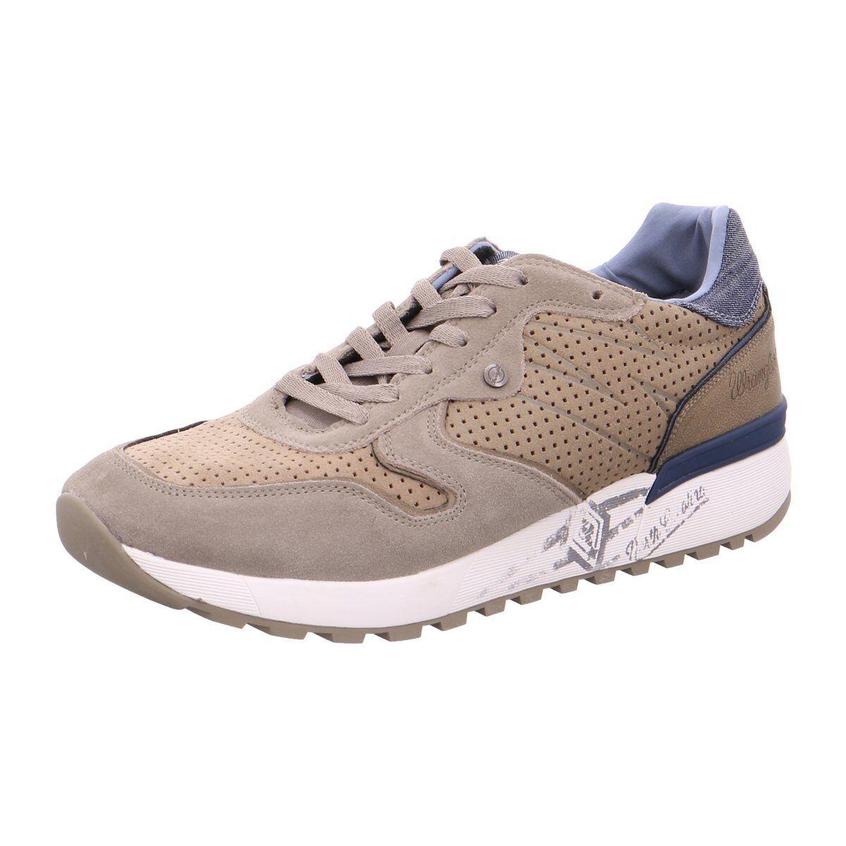 NEU Wrangler Herren Sneaker WM171080 beige 294988