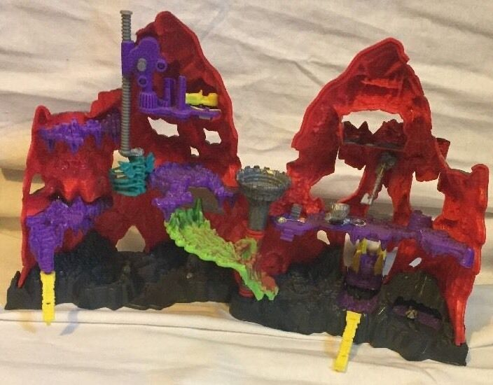 Mighty Mighty Mighty Max Trapped In Skull Mountain Kids Boys Set Playset blueebird Toys USA 1d1437