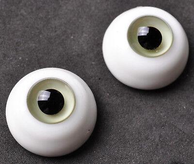New Special Grey/&Black 18mm Glass BJD Eyes for Reborn//Newborn BJD Doll