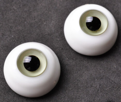 20MM Light Grey Glass BJD Eyes for AOD DOD DZ Volks Reborn Doll Luts Outfits