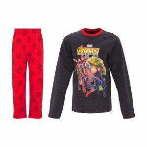 Boys Avengers Short Pyjamas Infinity WarMarvel AvengersMarvel Comics
