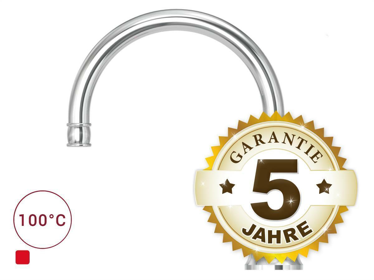 Quooker COMBI 2.2 E Classic Nordic Round CHR verchromt Kochendwasser-Armatur