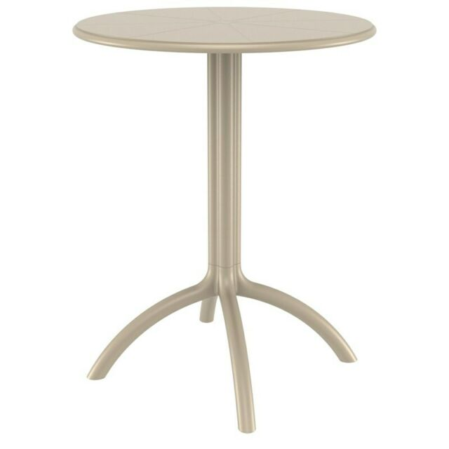Octopus Round Bistro Table Dove Gray For Sale Online Ebay