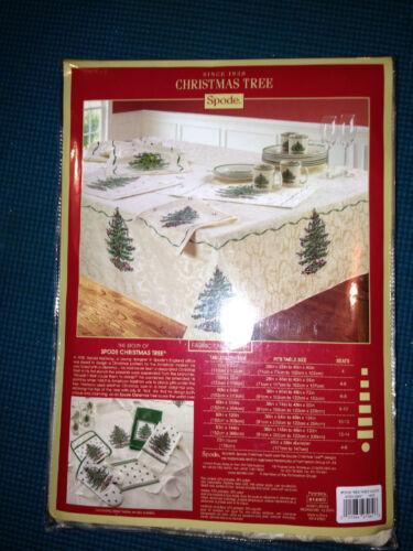 Spode CHRISTMAS TREE 60 x 104 Table Cloth NIP
